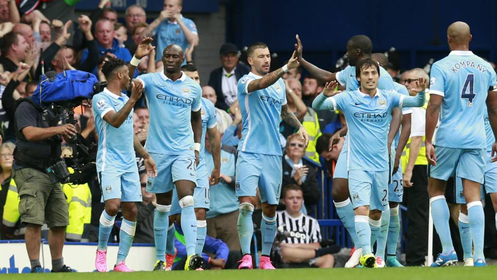 everton 0-2 manchester city 2015